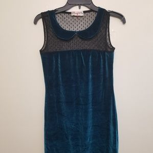 Urban Outfitters One&Only Velvet Dress